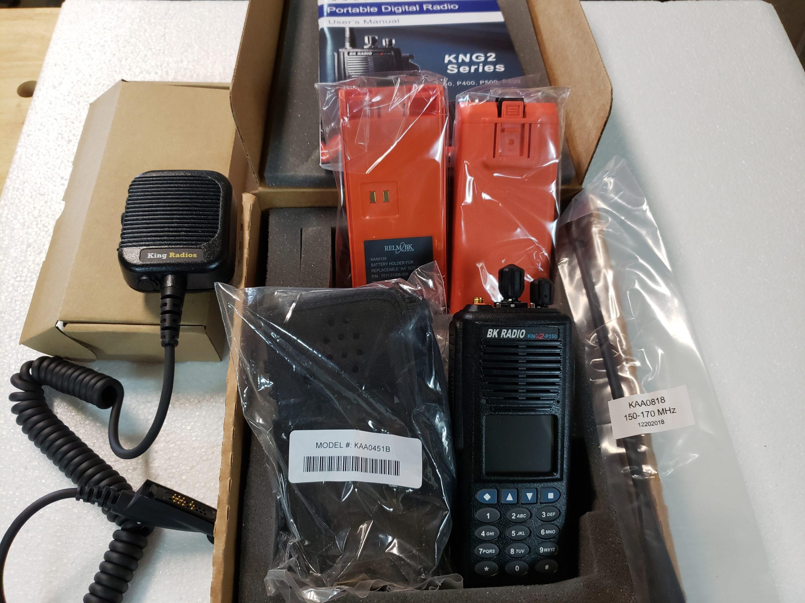 BK Fire Radios Package