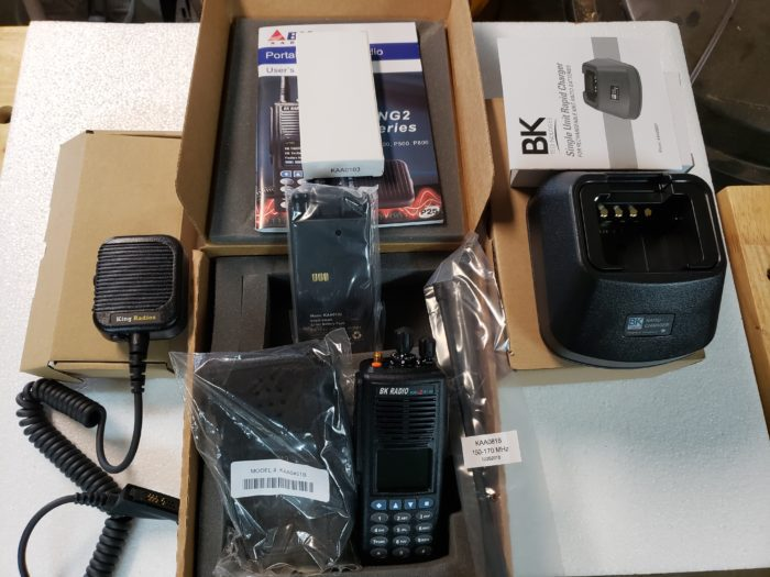 BK Fire Radios Package #2