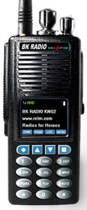 KNG2 P150 BK Radios