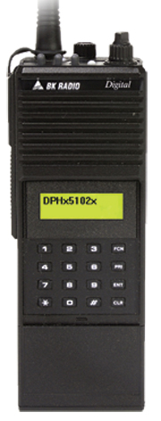 DPHX5102X Portable BK Radio
