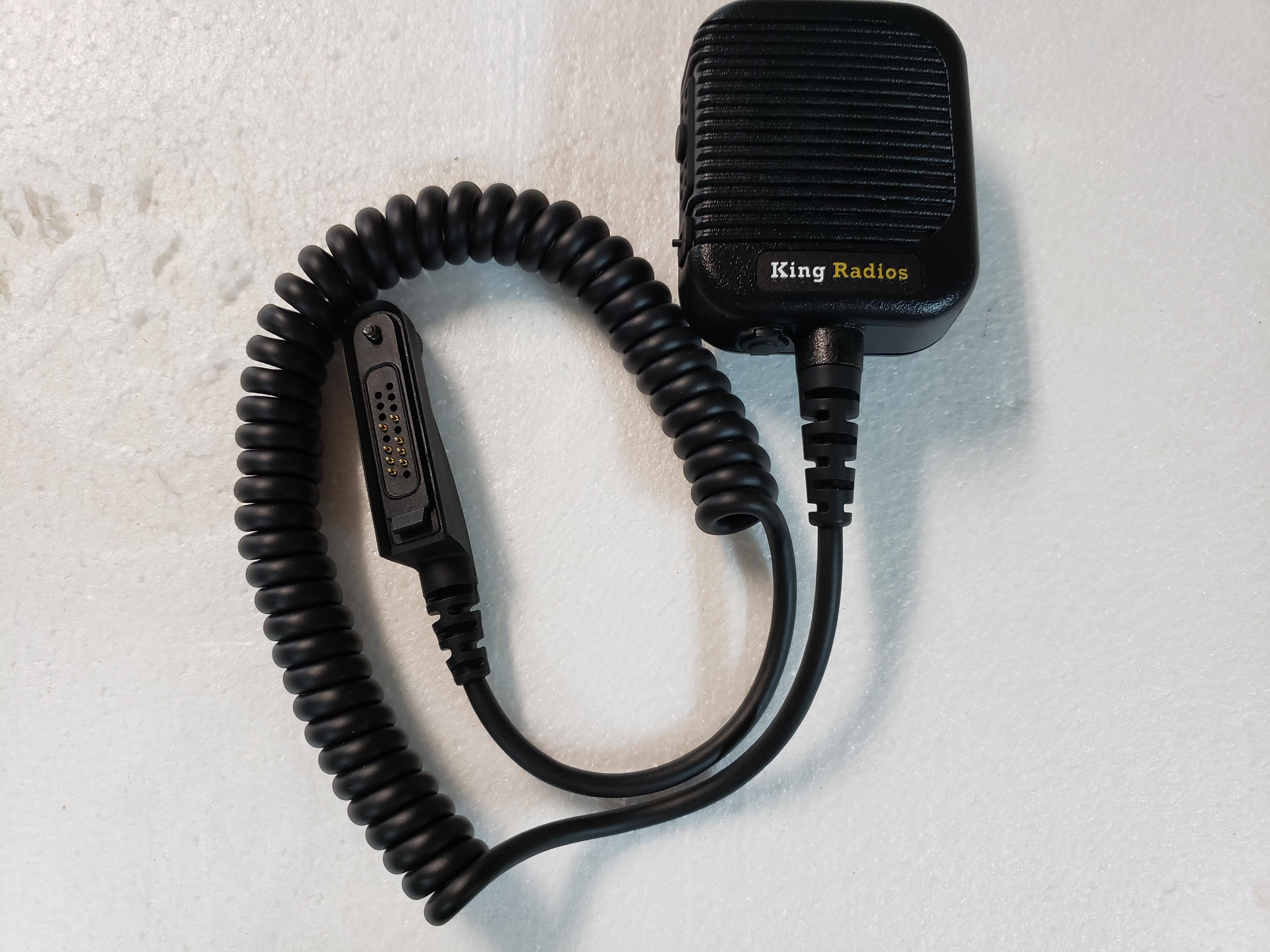 K1 Heavy Duty Speaker Mic